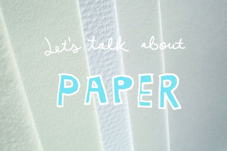 It's Only a Paper Moon: A Primer on the Best Paper for Illustration