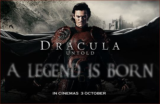 Luke Evans stars as Vlad the Impaler, the man who will become Dracula. In theaters October 3. #DraculaUntold