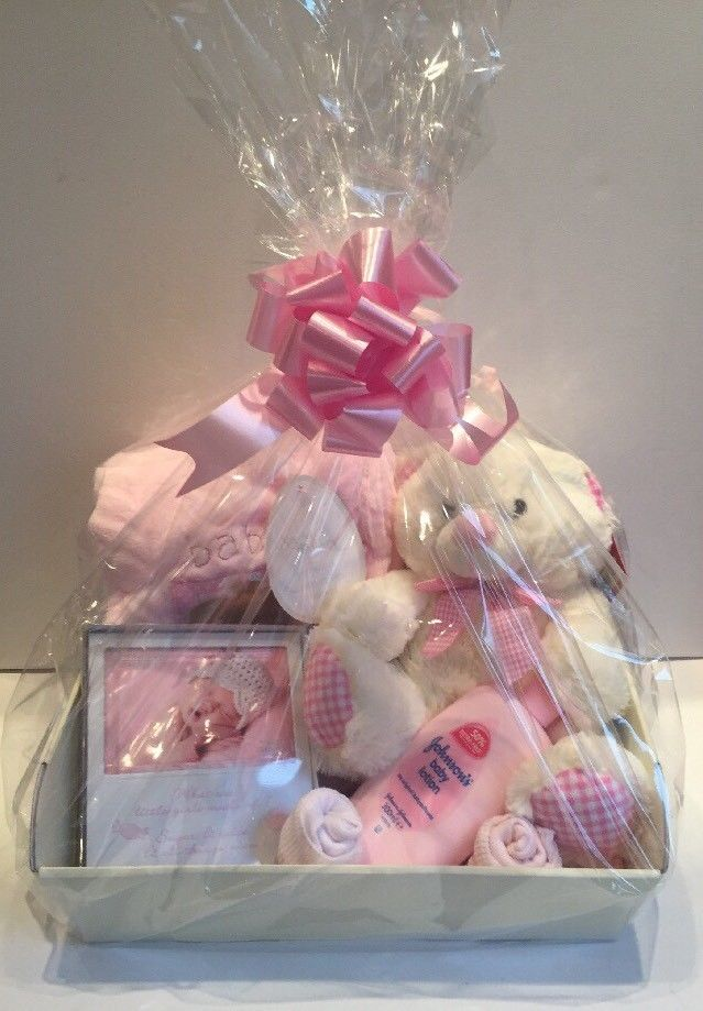 Details About Baby Girl Gift Basket Baby Hamper Baby Shower Gift New