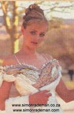 Bridal Wear by Simon Rademan - find many more on www.simonrademan.co.za