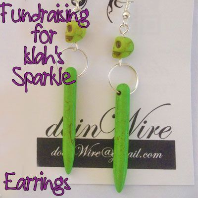 IslahsSparkle Earrings Skull Bones https://www.facebook.com/IslahsSparkle