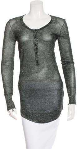 Isabel Marant Metallic Tunic