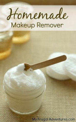 DIY Moisturizing Makeup Remover with a secret ingredient that keeps your skin moisturized!  Plus some inexpensive beauty tips too!