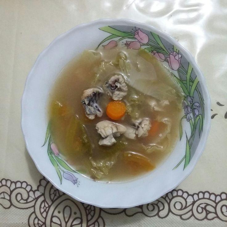 Sup asam ikan gurami