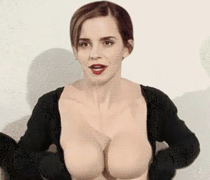 I Can't Stop Staring at This GIF of Emma Watson Turning into Sofia Vergara