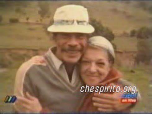Dom Ramon Valdez e Angelines Fernández  - #Chaves #ElChavodel8
