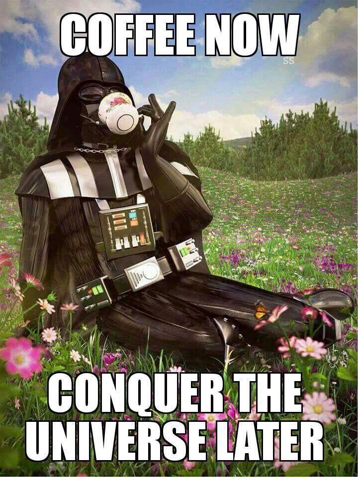 I Sent Star Wars Characters On Vacation Coffee Humor Coffee Love I Love Coffee