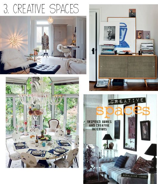 10 Must Have Decorating Books decor8 Creative Spaces by Geraldine James