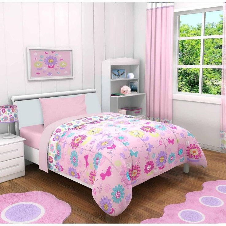 Toddler Bed Duvet Cover Butterfly