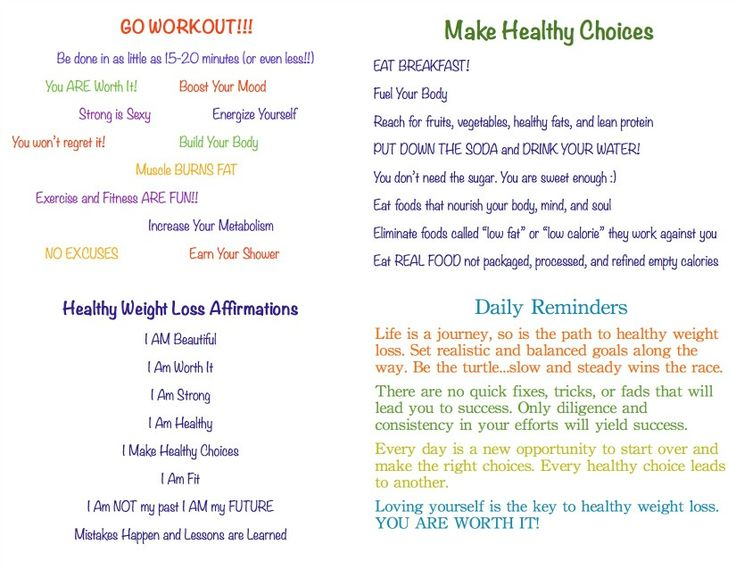 family weight loss meal plan