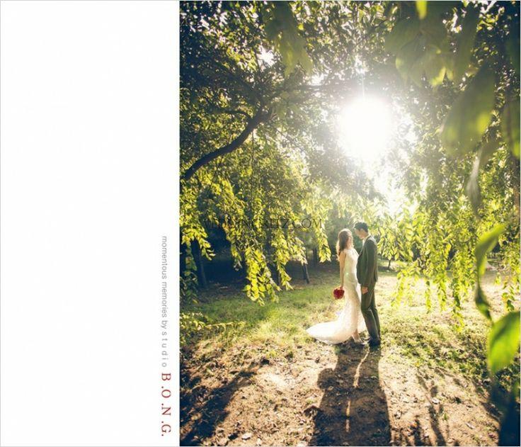 outdoor pre wedding photo in Korea, Korea pre-wedding photo, Korea wedding studio