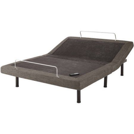 Premier Adjustable Wireless Flex Bed Base Foundation Frame, Multiple Sizes, Gray