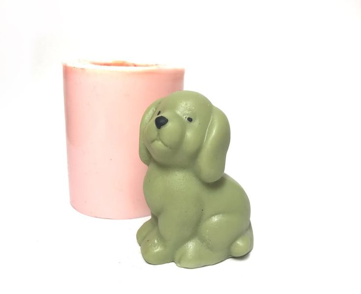 Adorable puppy for soap or candles with this lovely silicone mould  #Renascent #Renascentbathbody #Soap #SoapMaking #Siliconemould #siliconemold #unique #DIY #handmade #Vegan #meltandpour #puppy #dog