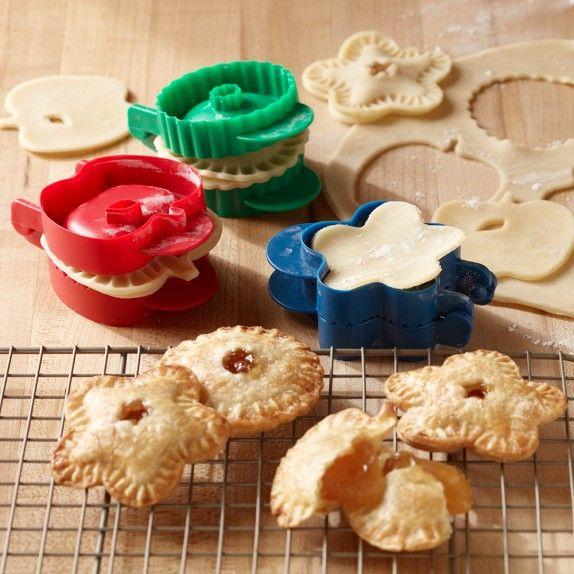 Mini Pocket Pie Molds, Set of 3