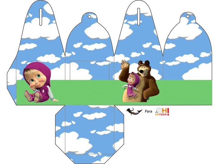 masha-and-the-bear-free-printable-kit-046.PNG (960×720)