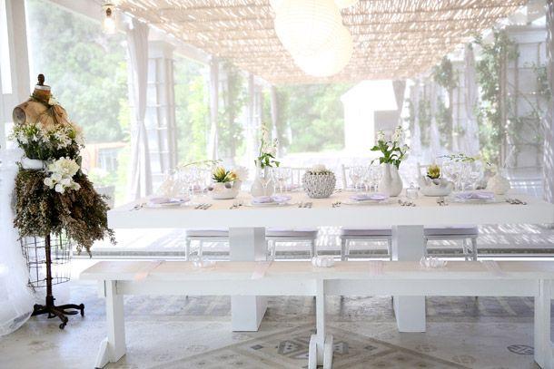 Whimsical White Wedding Style from the NEW Wedding Inspirations Magazine