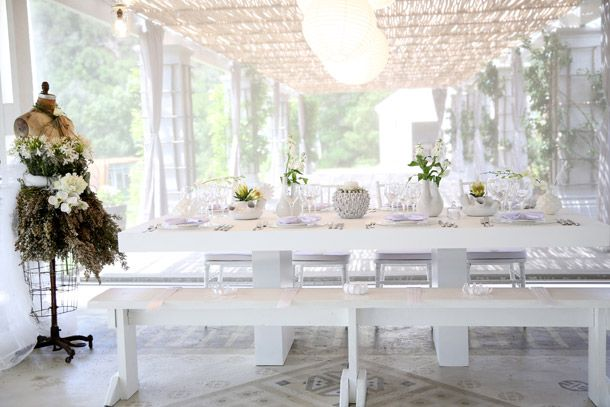 Whimsical White Wedding Style from the NEW Wedding Inspirations Magazine