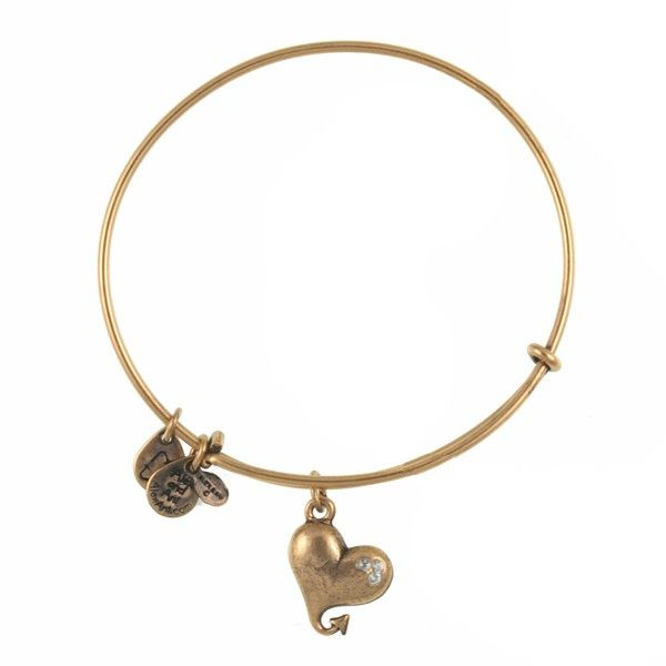 Cupid's Heart Charm Bracelet | Alex and Ani