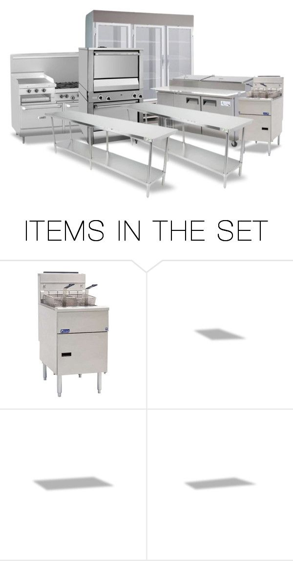 """At Last!  Emilio's Restaurant Equipment Was Delivered…Once it Was Installed the Plumber & Electrician Would Complete Their Jobs, the Floor & Backsplash Would Go in & the Punch List Would Be Addressed…Emilio Hoped to Open by Mid March"" by maggie-johnston ❤ liked on Polyvore featuring art"