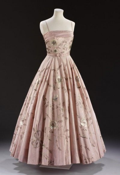 vintage ballgown at the V London