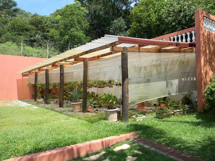 Telha transl cida para revestir estufa de plantas for Estufas de jardin