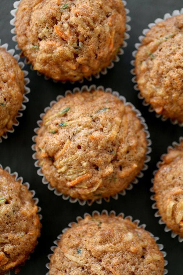 Morning Glory Muffins are what's HOT right now at my house! I'm traveling for work and am hurrying to post this amazing recipe before I have to run off to another meeting. I was going to hold off on posting, but you guys, this is a recipe worth making {and not just because you can get your kids to eat veggies too! Mwahahaha!} This recipe is based on my mom's carrot muffin recipe, but I added in a bunch of fun goodies like walnuts and shredded coconut and took out a lot of the pr...