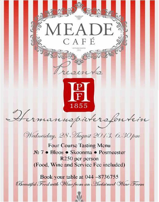Newsletter: Meade & Hermanuspietersfontein ( 16 August 2013 )