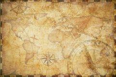 foto de Viejo fondo náutico del mapa del tesoro Imagen de archivo (con ...