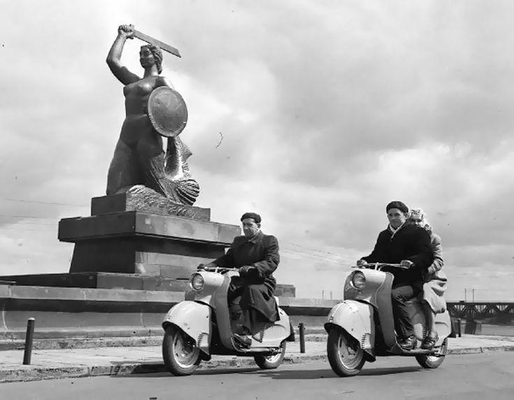Polish motorcycles in Warsaw