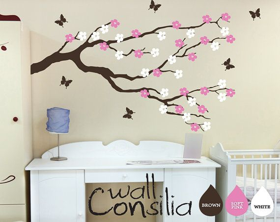 Blossom Tree Extra Large Wall Decal Japanese Cherry Blossom: 19 Best Japanese Style Nursery Images On Pinterest