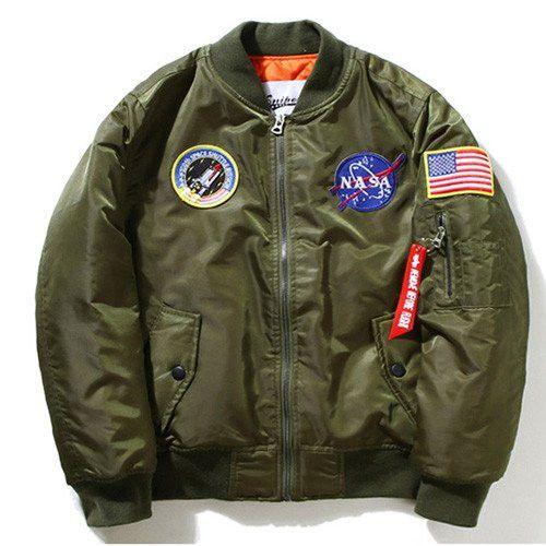 Space Walk Streetwear Bomber