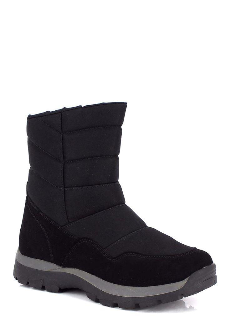 Kimberfeel Snow-Boots Combloux, gefüttert, schwarz Jetzt bestellen unter: https://mode.ladendirekt.de/damen/schuhe/boots/snowboots/?uid=1c300811-7437-5d0e-9cc9-023d8c90d39a&utm_source=pinterest&utm_medium=pin&utm_campaign=boards #snowboots #boots #schuhe #bekleidung Bild Quelle: brands4friends.de
