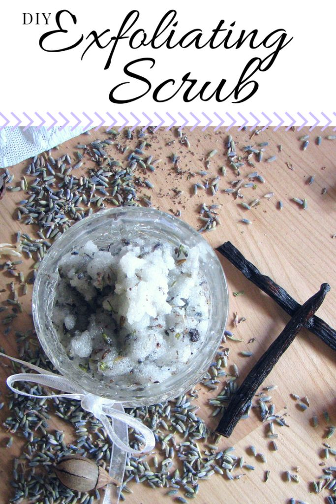 Try this homemade Exfoliating Scrub recipe! Your skin will be so soft and smell great! Best of all, it's with all natural ingredients!
