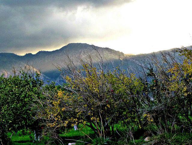 Sun over Besparmak Mountains, North Cyprus https://www.flickr.com/photos/glittergoddess/15563911823/in/photostream/