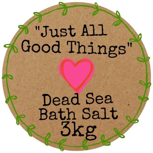 Dead Sea Bath Salt available in 3kg or 6kg