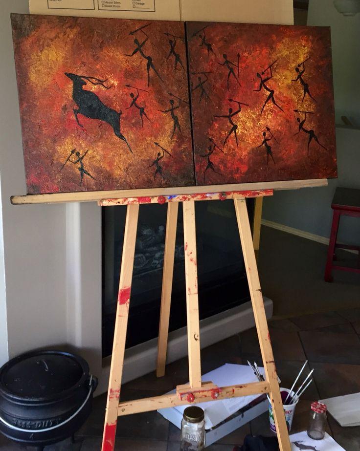 New painting in progress 🎨   www.blis5.com www.facebook.com/bliss.shellcave #art #artist #africanart #painting #oilpainting #artgallery #blis5