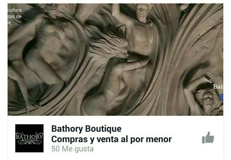 Muchas gracias a todos nuestros seguidores y amigos por darnos su respaldo #Facebook @BathoryBoutiqueCo Un abrazo.