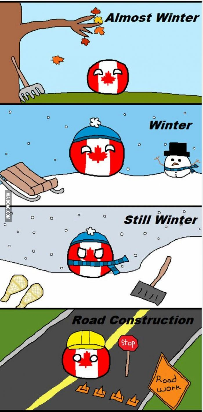 The four seasons of Canada. What four (hypothetical) seasons does your country…