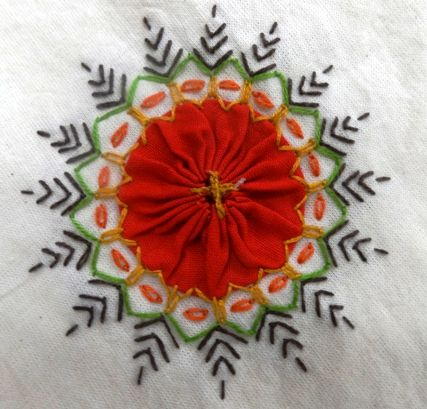 Artistry in table linens