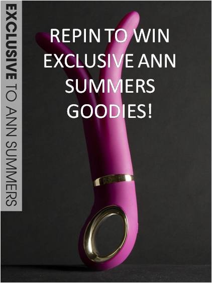 Repin for a chance to #win an exclusive G-Vibe Deep Rose and some other fantastic Ann Summers goodies! We'll announce the winner on  Friday 3rd May, so keep your eyes peeled...