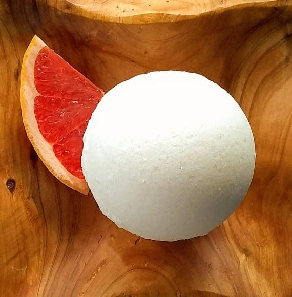 *Grapefruit* natural citrus bath bomb fizzie --made from pure, beautiful ingredients that are nourishing for your skin & soul. We want our bath bombs to relax you, but also be beneficial for your skin! You can be confident our products never contain artificial dyes, perfumes,