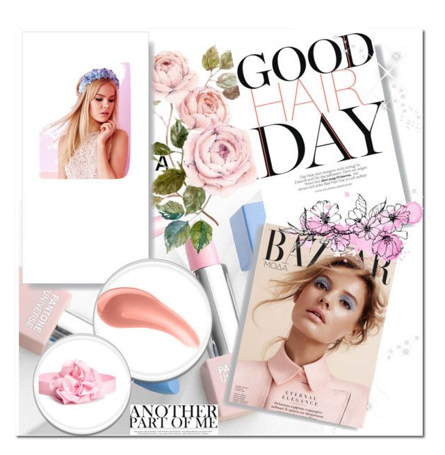 Think pink by selfies-i on Polyvore featuring beauty, Urban Decay, Lipsy, Sephora Collection and Karlsson