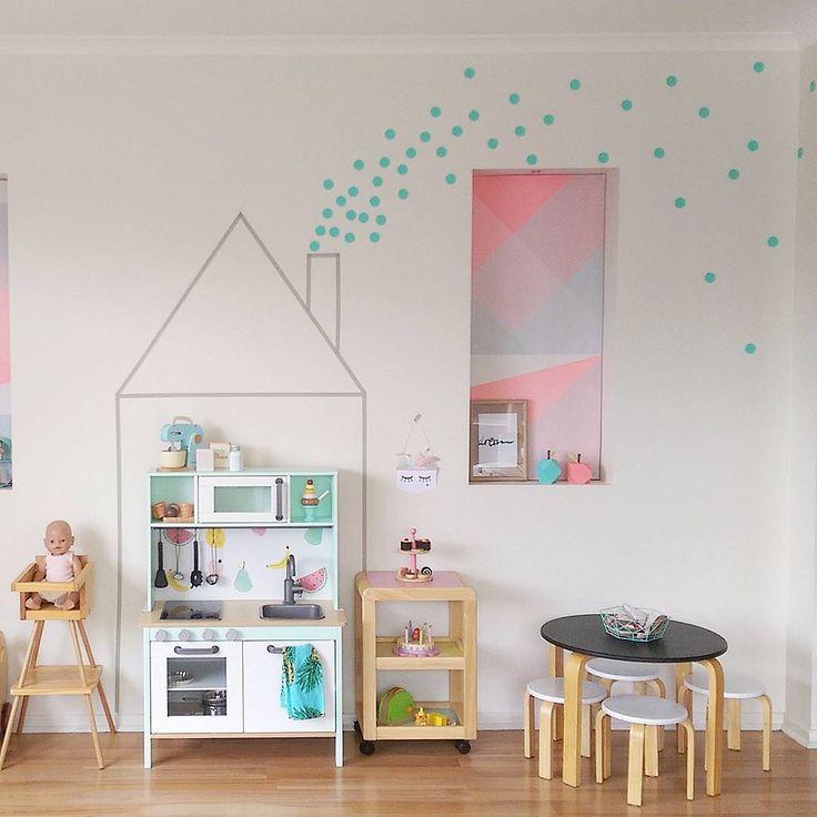 238 besten kinderzimmer ideen bilder auf pinterest kinderzimmer ideen kita und kleinkinderzimmer. Black Bedroom Furniture Sets. Home Design Ideas