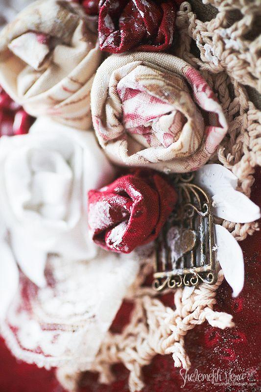 Творческая мастерская Мемуарис: Оч.умелые штучки - Розы из ткани