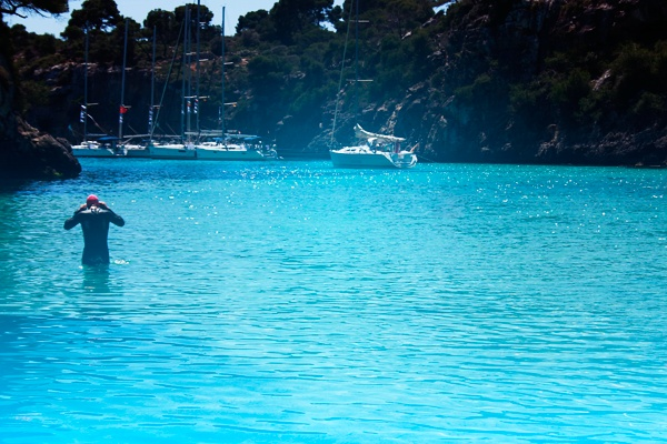Photo by me. At the beach in Cala Pi.