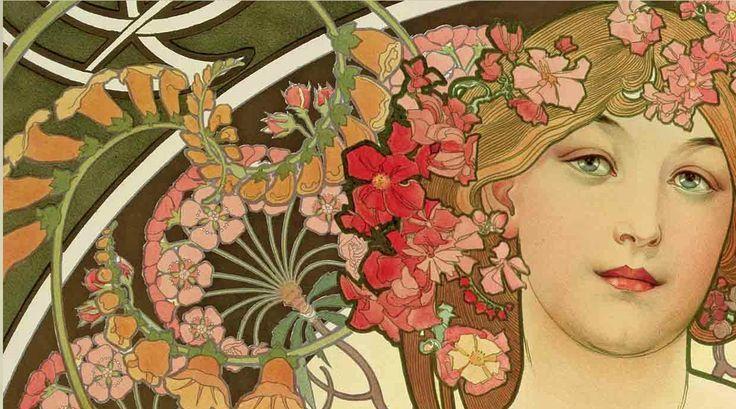 El retorno de la Belle Epoque y Art Nouveau con Alfons Mucha ...