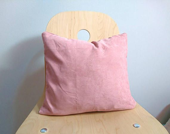 Check out this item in my Etsy shop https://www.etsy.com/listing/530597979/suede-pink-pillow-case-decorative-pillow