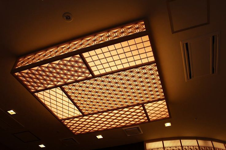 Japanese ceiling lamp