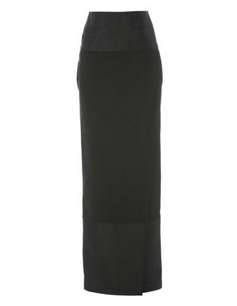 ellery obedient column wrap skirt