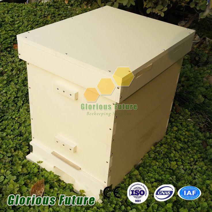 Venta caliente de la Colmena Langstroth colmenas de abejas de plástico